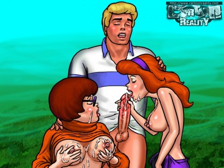 Hot Toon Fuck for Daphne and Velma