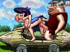 Flintstones group sex in Cartoon Reality gallery