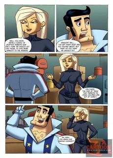 Nude Agent B sex story in CartoonZa gallery