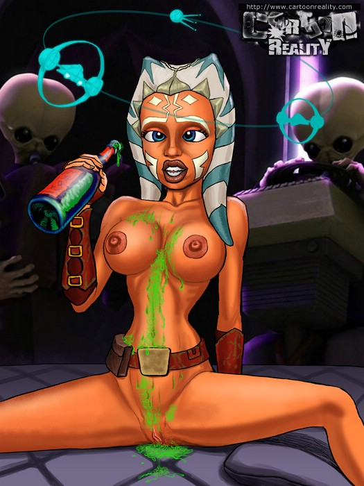 star wars cartoon porn video