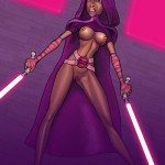 Female villains of Star Wars in Cartoon Reality gallery