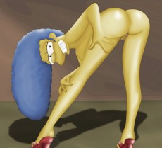 Naked MARGE SIMPSON in Tram Pararam gallery