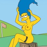 Marge Simpson horny comix in Tram Pararam gallery