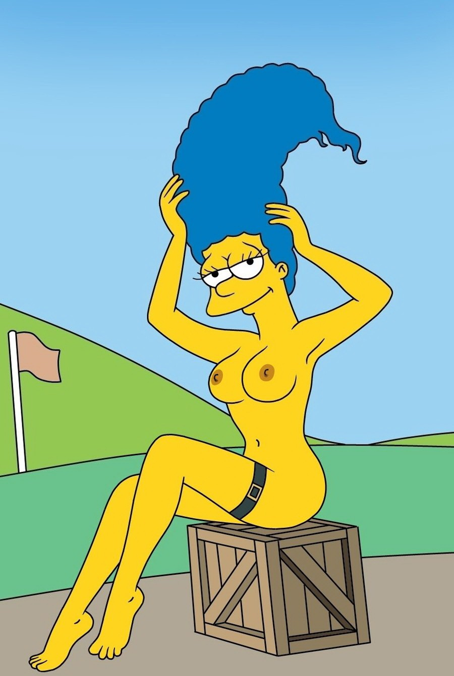 The Simpsons Marge Nackt
