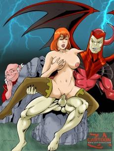 Dungeons & Dragons xxx toons in CartoonZa gallery