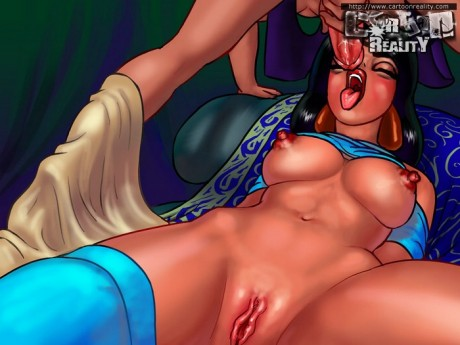 Princess Jasmine is a slut!