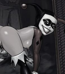 Harley Quinn sexual fantasies