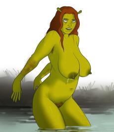 Shrek xxx images in Toons fucking gallery