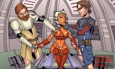 A slut of StarWars in CartoonZa gallery