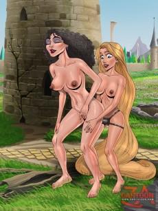 Rapunzel porn in CartoonZa gallery
