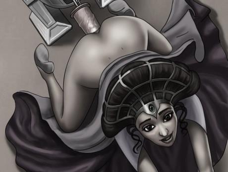 Horny princess