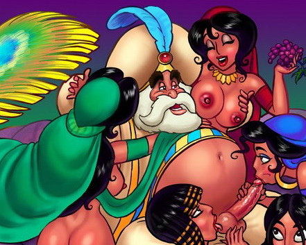 Princess Jasmine sex story