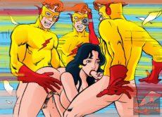 Superhero fucking in CartoonZa gallery